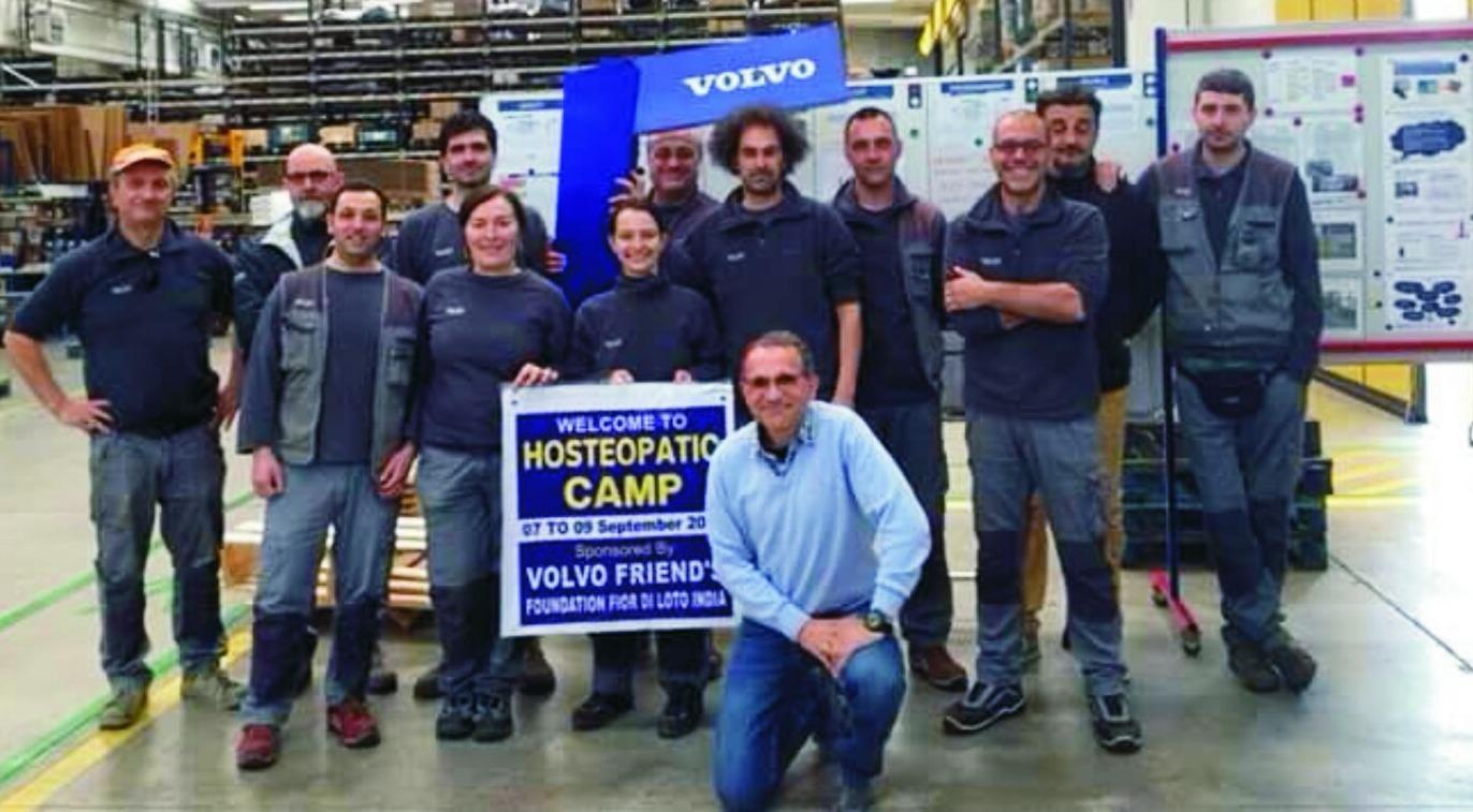 Italien: Volvo Friends Silvia Constantini